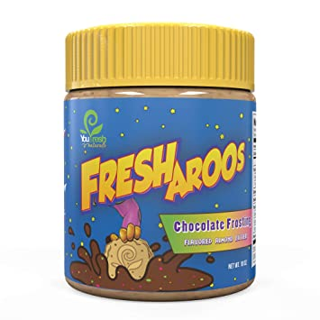 Freshy Frost sabor Nut mantequilla Frosting | Todo natural ...