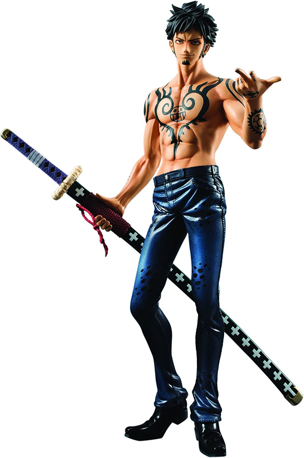 1:8 Scale Portrait of Pirates Trafalgar Law Limited Edition Version 2.5 PVC Figure Megahouse One Piece