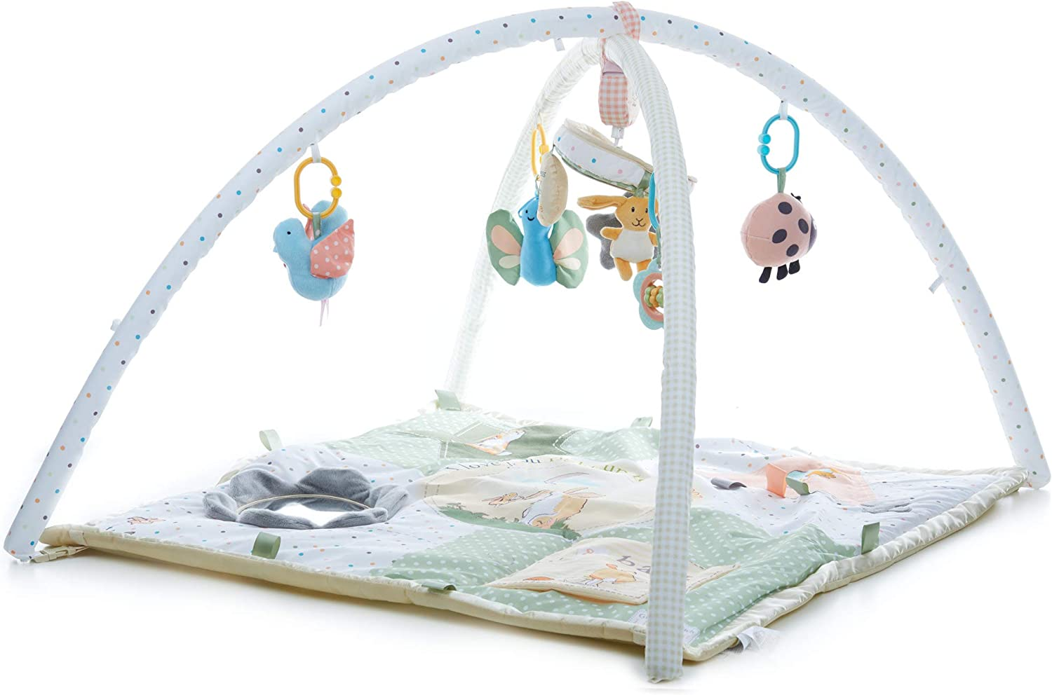 KIDS PREFERRED Guess How Much I Love You Activity Gym with Rotating Plush Musical Mobile