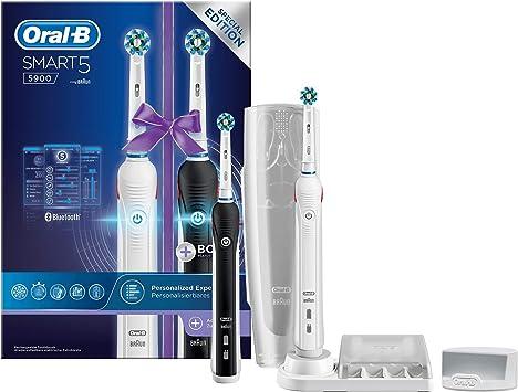 Oral-B Power Futuro 5 5900 Blanco + Negro Duopack - 2 Cepillos ...