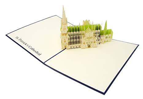 Amazon.com: New York City – Tarjeta de felicitación 3D para ...