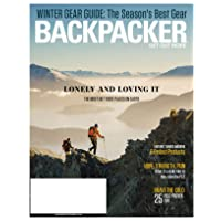 1-Year (6 Issues) of Backpacker Magazine Subscription