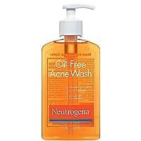 Neutrogena Oil-Free Acne Wash 9.10 oz (Pack of 4)