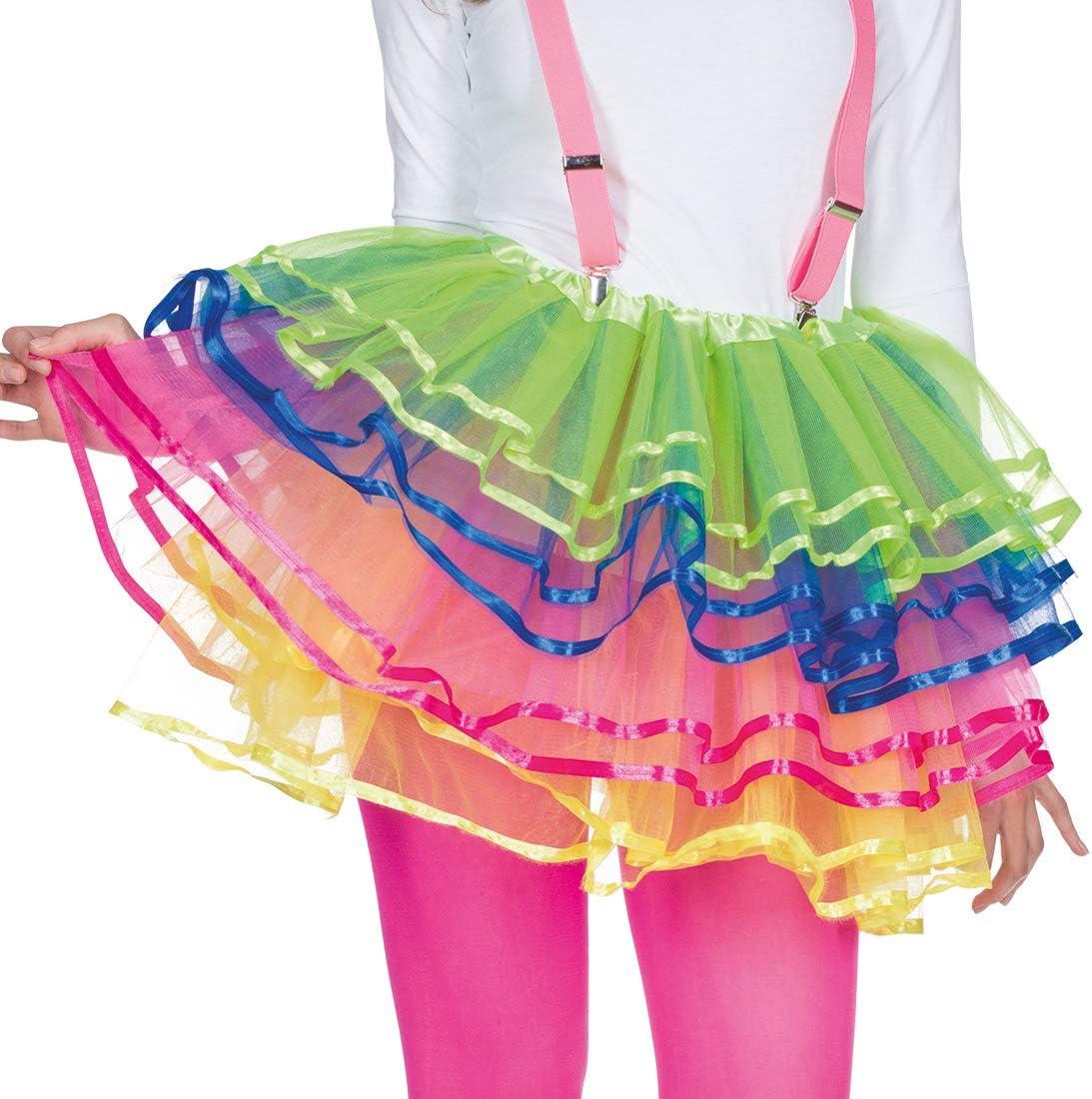 Amakando Colorida Falda de Tela de Tul / En Talla STD (ES 38 - 44 ...