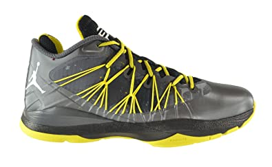 557824026979 Jordan CP3.VII AE Men s Shoes Dark Grey White-Black-Vibrant Yellow