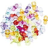 50 minichupetes de vidrio acrílico transparente en miniatura ...