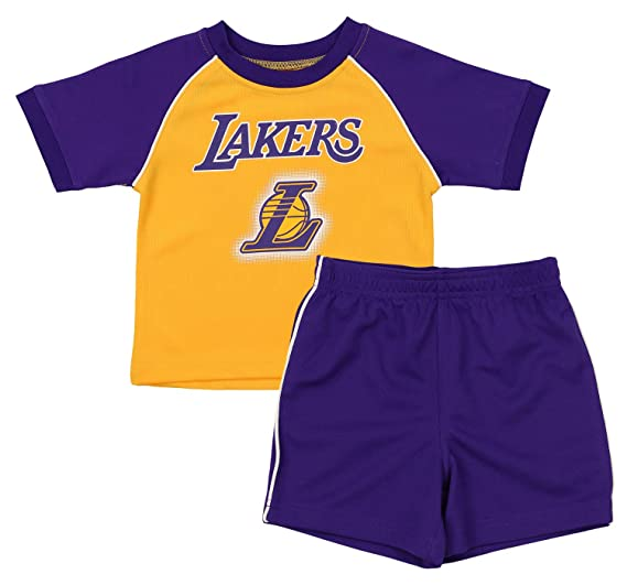 best website f835b 8c7f2 Amazon.com: Outerstuff NBA Infant and Toddler (12M-4T) Los ...