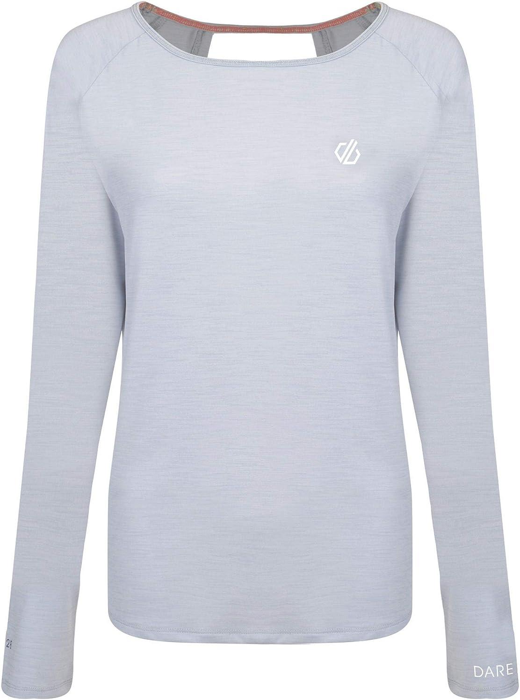 Dare 2b Womens Renovate Lightweight Quick Drying Long Sleeve Top