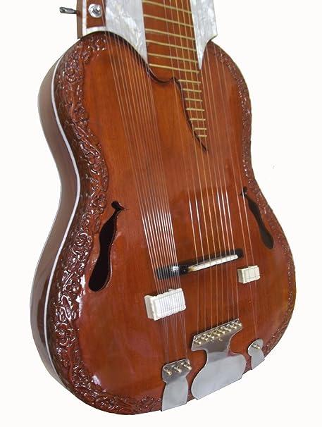 Indian Mohan Veena debashish estilo caja de resonancia guitarra ...