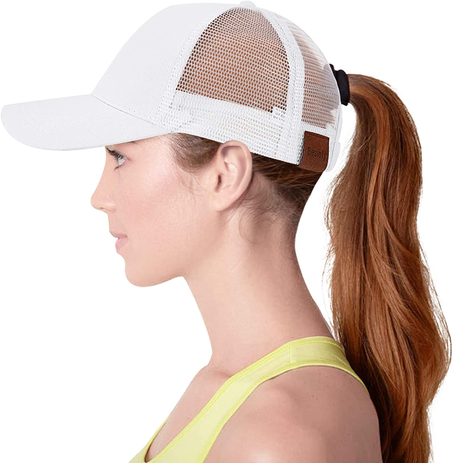 High Ponytail Baseball Hats...