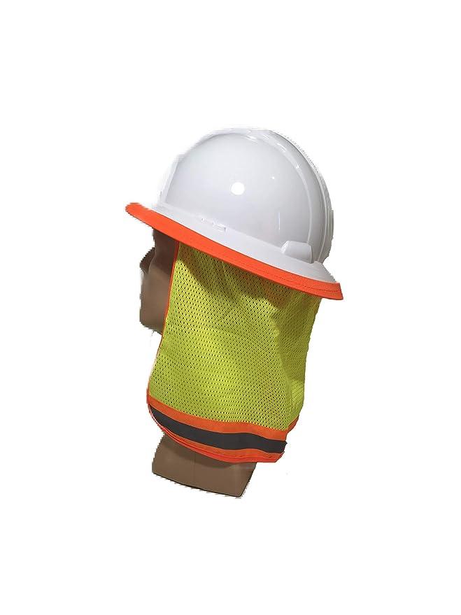 Amazon.com: Máscara de sombrero duro con cuello para evitar ...