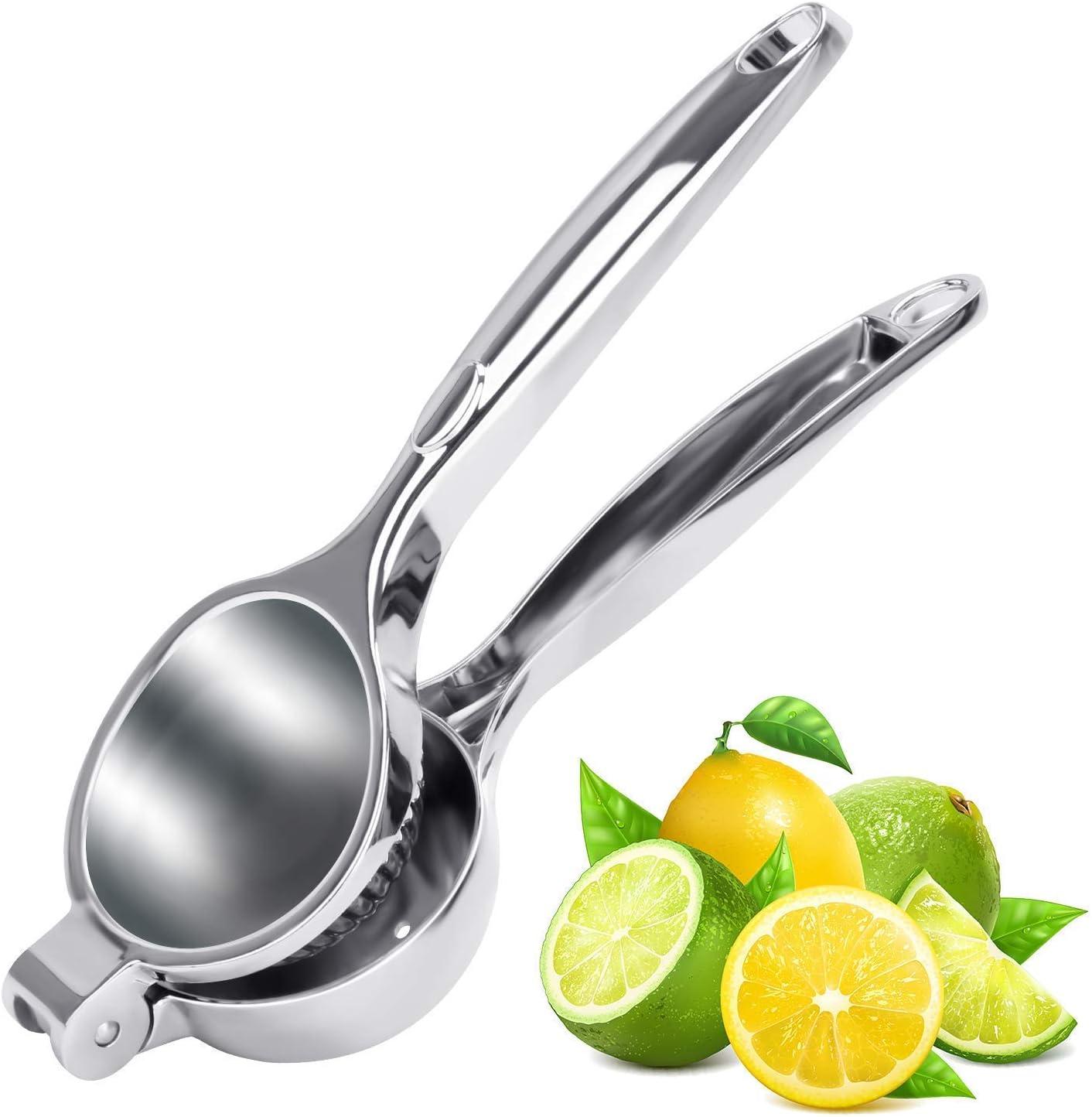 Lemon Squeezer Manual Juice Press Lemon Juicer Citrus Juicer Lime Juicer Hand Held Stainless Steel Industrial Juice Press