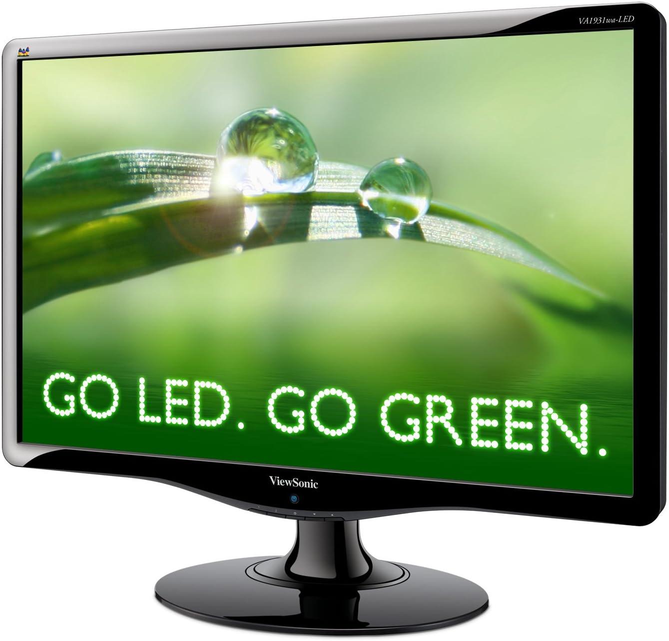 Viewsonic VA1931WA-LED - Monitor LED Panorámico, 18.5 pulgadas ...