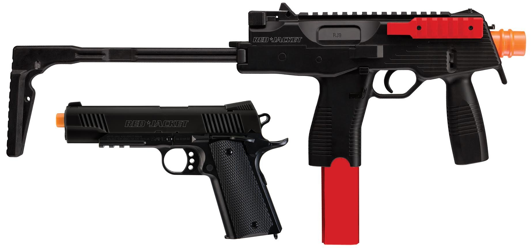 Red Jacket Tac Kit-6mm Airsoft Combo