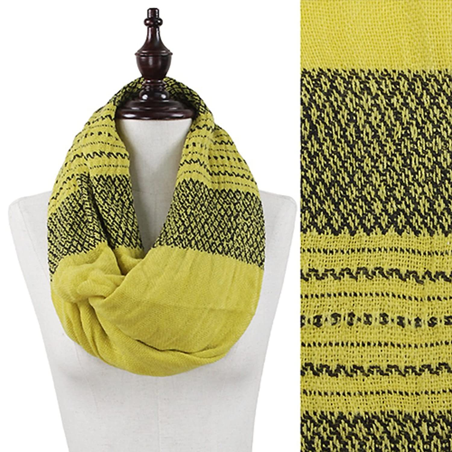 Infinity Scarf for Her - Multiple Colors & Patterns - Top Quality