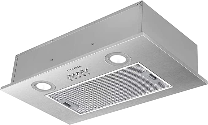 CIARRA Filtro de grasa de aluminio para campana extractora integrada CBCS5913A (163 x 351 mm), 1 pieza: Amazon.es: Grandes electrodomésticos