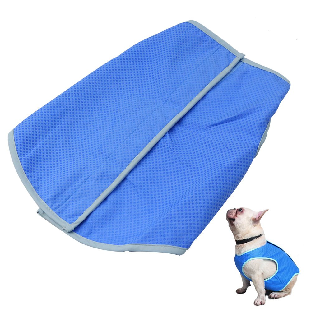 Petilleur Dog Cooling Vest Pet Cooling Coat Dog Mesh Vest for Small, Medium and Large Dog