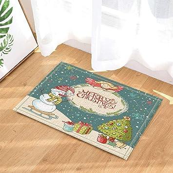 Amazon Com Koperororo Christmas Decor Snowman Christmas Tree And