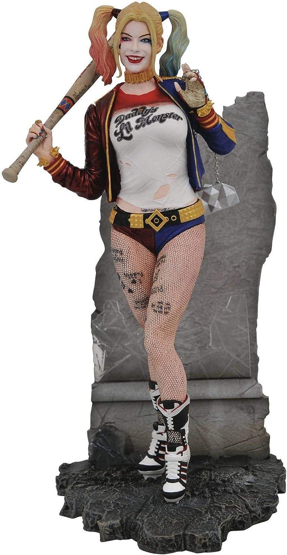 Diamond- Estatua de la colección DC Movie Gallery Select del Personaje Harley Quinn de la película Suicide Squad Comics Batman, Multicolor (APR192527): Amazon.es: Juguetes y juegos