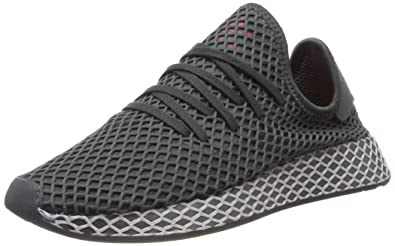 quality design new york no sale tax Amazon.com | adidas Youth Deerupt Runner Mesh Grey Trainers ...