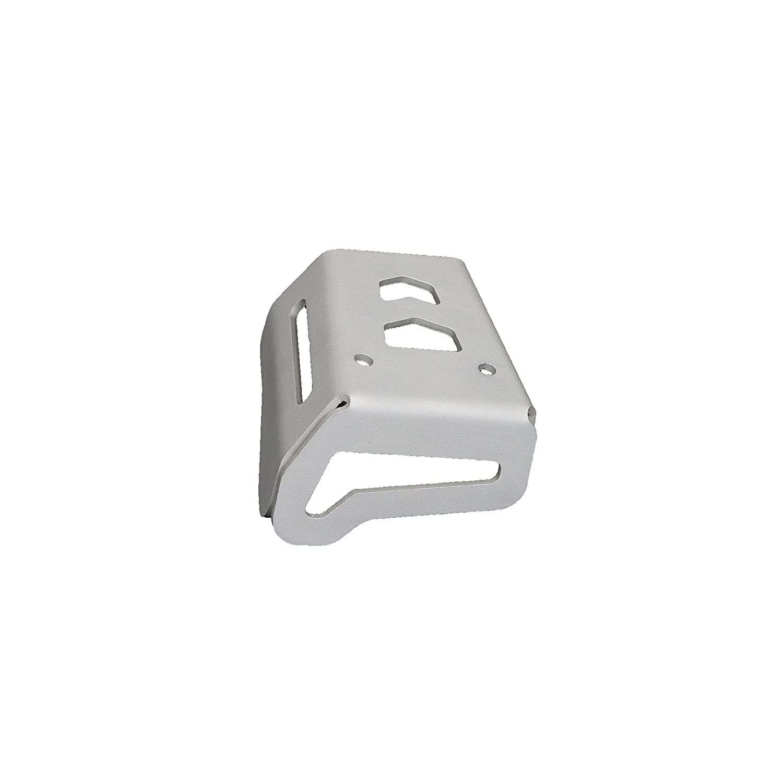 MyTech - Protezione potenziometro in alluminio anodizzato Silver per - BMW R 1200 GS Adventure/BMW R 1200 GS raffreddato ad Aria fino al 2012