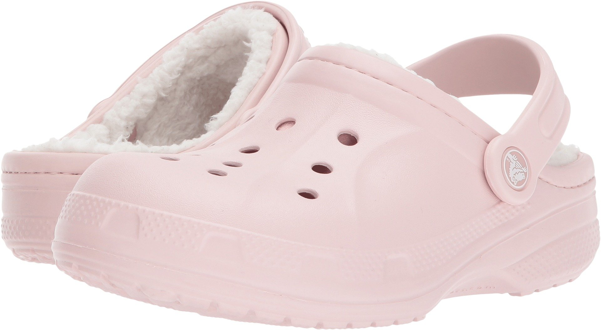 Crocs Kids Unisex Ralen Lined Clog (Toddler/Little Kid) Cotton Candy/Oatmeal 10-11 M US Toddler/Little Kid