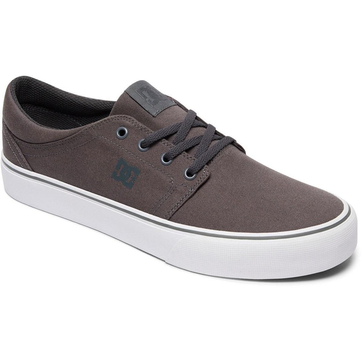 DC Men's Trase TX Unisex Skate Shoe B06ZZH6VLH 9.5 D D US|Pewter