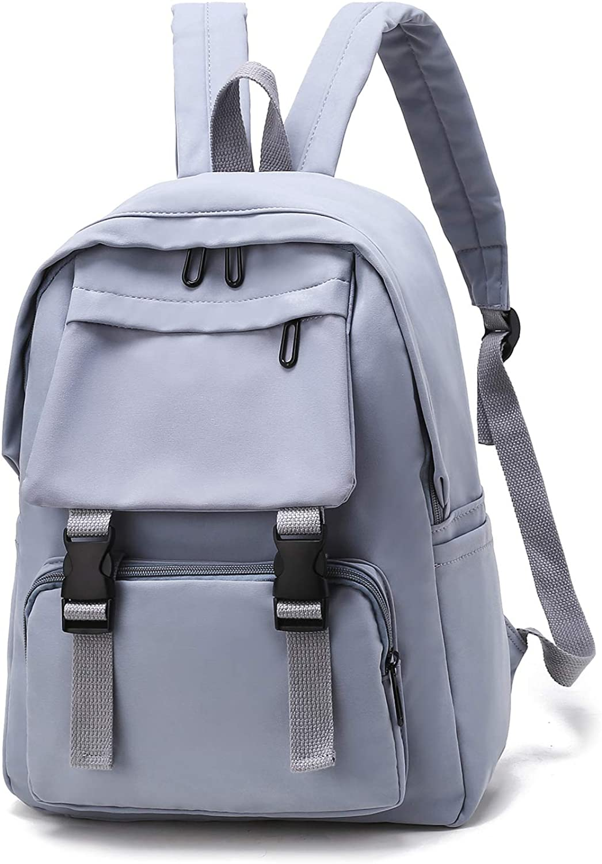 Women Backpack Purse Waterproof Nylon Laptop Fits 15.6 inch Anti-theft Fashion Rucksack Lightweight Travel Bag for Girls