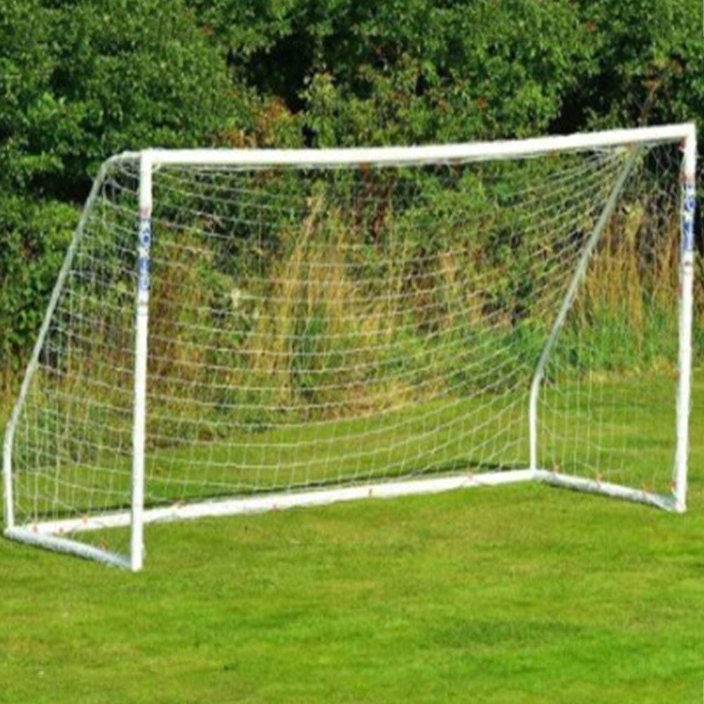 Pepeng Tragbares Fußball Fußball Ziel Ersatz Netze, 24 ft x 8 ft, Professional voller Größe Zubehör für Outdoor Sport Training und Praxis (nur Netz)