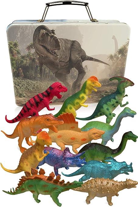 Amazon Com 3 Bees Me Dinosaurios Juguetes Para Ninos Y Ninas Con Caja De Almacenamiento 12 Grandes Dinosaurios De Juguete De 6 Pulgadas Y Estuche Regalo Para Ninos De 3 Puedes controlar hombres de las cavernas y todo tipo de dinosaurios; 3 bees me dinosaurios juguetes para ninos y ninas con caja de almacenamiento 12 grandes dinosaurios de juguete de 6 pulgadas y estuche regalo
