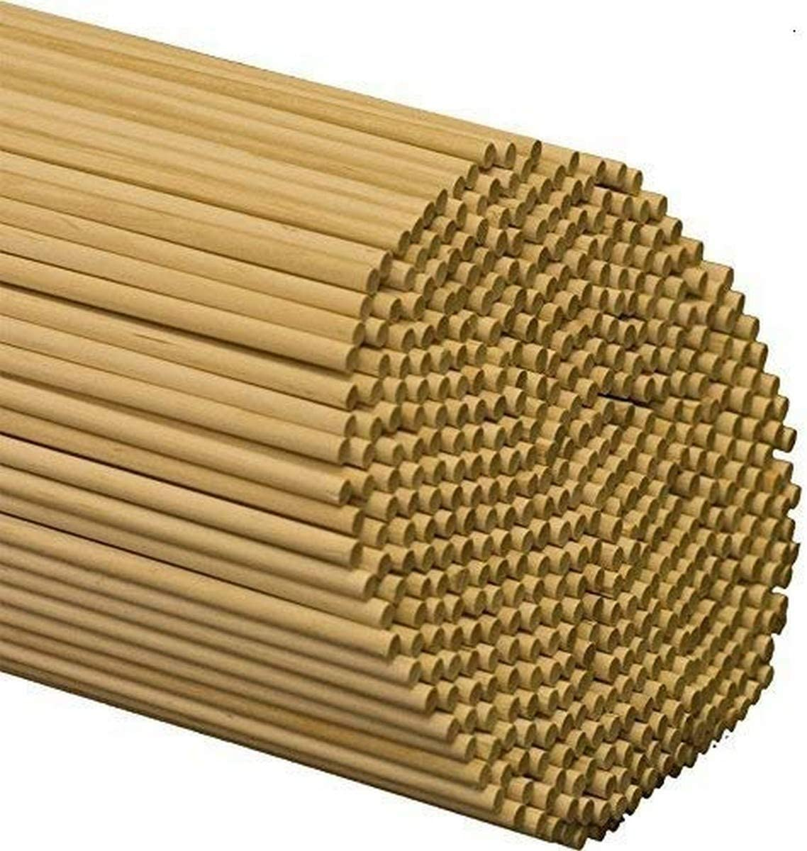 Pinehurst Crafts 3//16 Inch x 36 Inch Unfinished Wood Dowel Rods Pack of 50