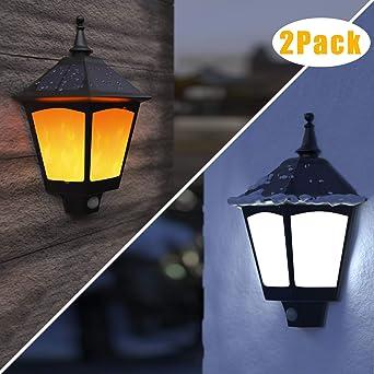 B-right 2 pcs Lampe Solaire de Jardin Lumière Décorative Exterieur ...