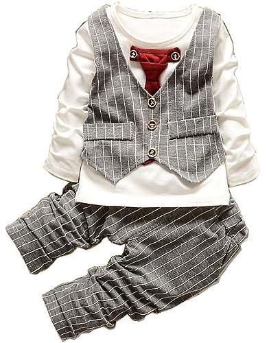 a63b35f7bf634 Amazon.co.jp:  HOOMAI  (ホーマイ) 子供服 スーツ フォーマル 男の子 ...
