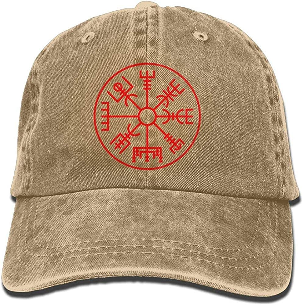 Sdltkhy Viking Symbol Nordic Compass Snapback Cotton Cap Fashion10430