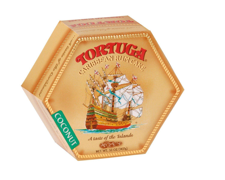 TORTUGA Caribbean Coconut Rum Cake - 32 oz. - The Perfect Premium Gourmet Gifts