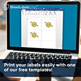 """4"""" x 5"""" Labels for Shipping/Mailing from"""