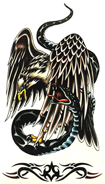 Amazon Com Eagle Tattoos Body Tattoos Pictures Diy Temporary