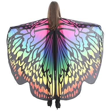 Cebbay Chal de alas de Mariposa Suave Ropa de Adulto Juego de rol Accesorios de Ropa(UNA, One Size): Amazon.es: Ropa y accesorios