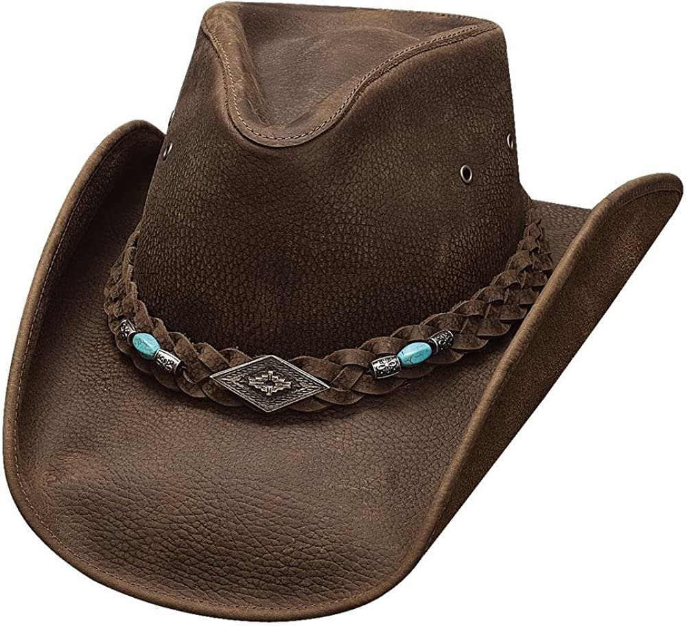 NEW Bullhide Hats 4048Ch Down Under Collection Royston Chocolate Cowboy Hat