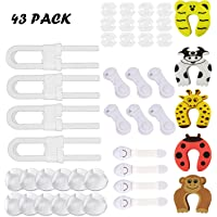 Cubiertas de Protección de Socket,Protector Enchufes Bebes,Cerraduras