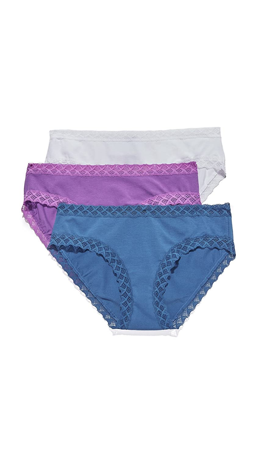 a302ab01bd06 Natori Women's Bliss Cotton Girl Brief Panty 3-Pack at Amazon Women's  Clothing store: Boy Shorts Panties