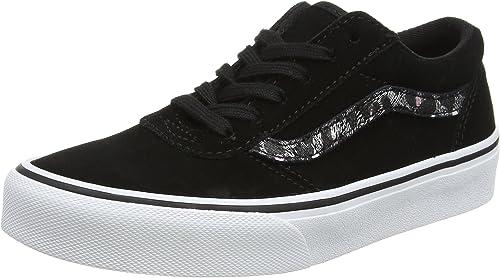 Vans Girls' Maddie Trainers, Black