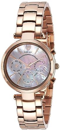 Swiss Eagle Analog Rose Gold Dial Women's Watch - SE-9097B-RG-08