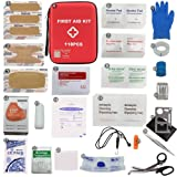 Qusouloutdoor First Aid Kit - Waterproof Compact