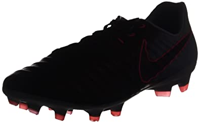 on sale e7ee6 80c7c Image Unavailable. Image not available for. Color  Nike Tiempo Legacy III  FG soccer cleats-Silver Black ...