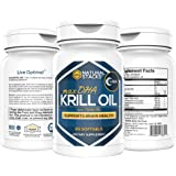 Premium Antarctic Krill Oil 1000 Mg with 1.5 Mg of Astaxanthin | 60 Softgels