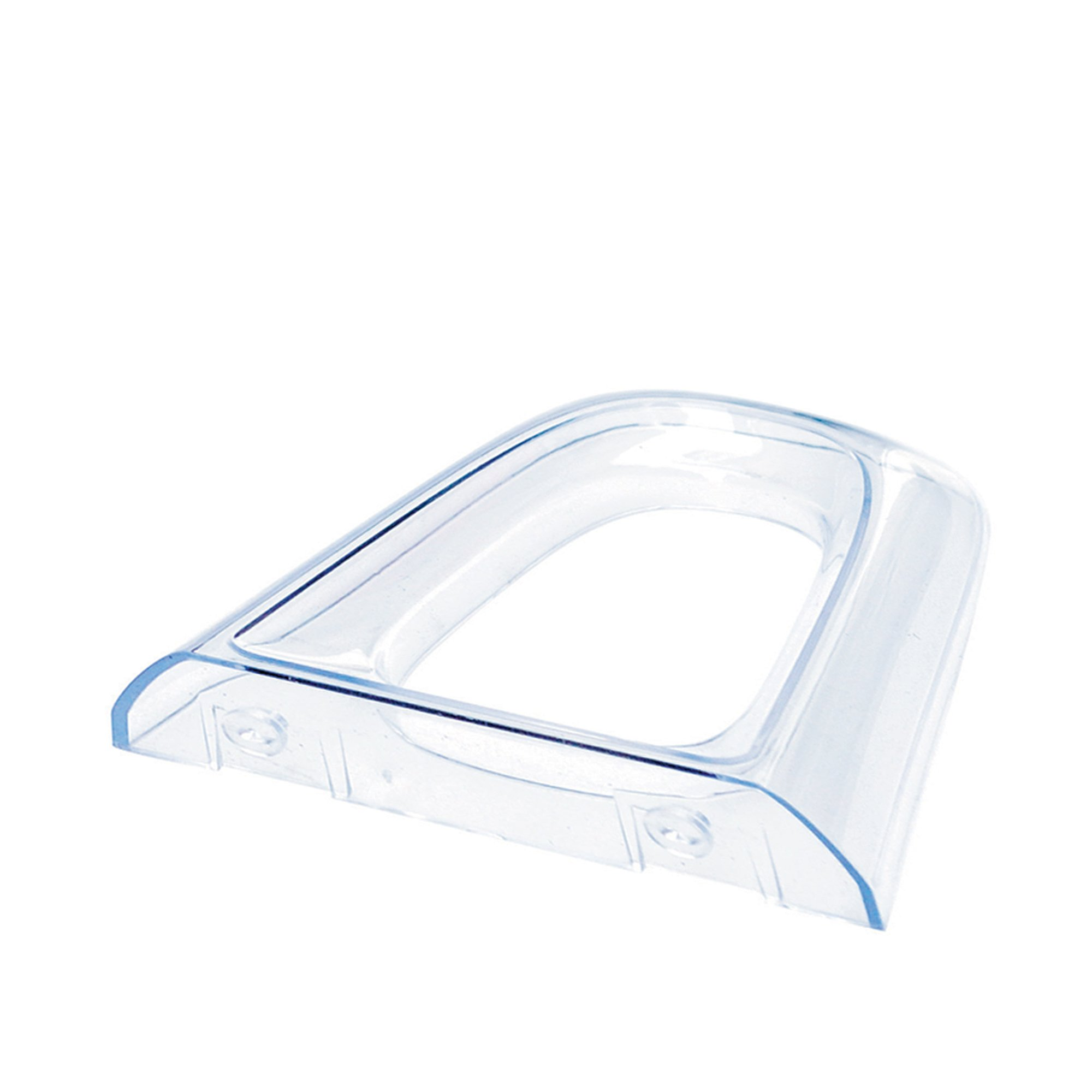 Deflecto Lic Loc Base or Wall Support, Clear (771701)