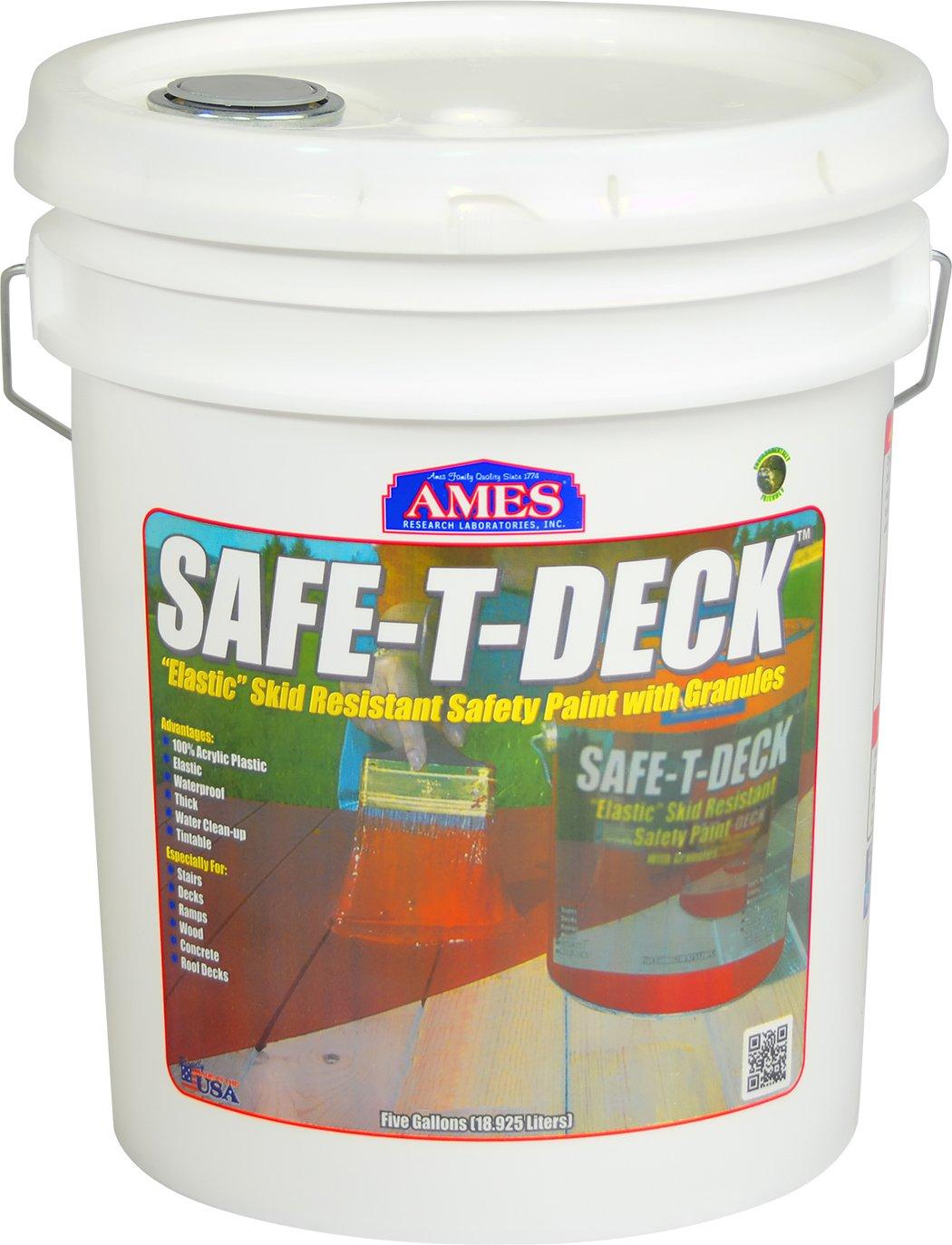 Ames SD5GN Safe-T-Deck Granulated 5 gallon green Safe-T-Deck Granulated