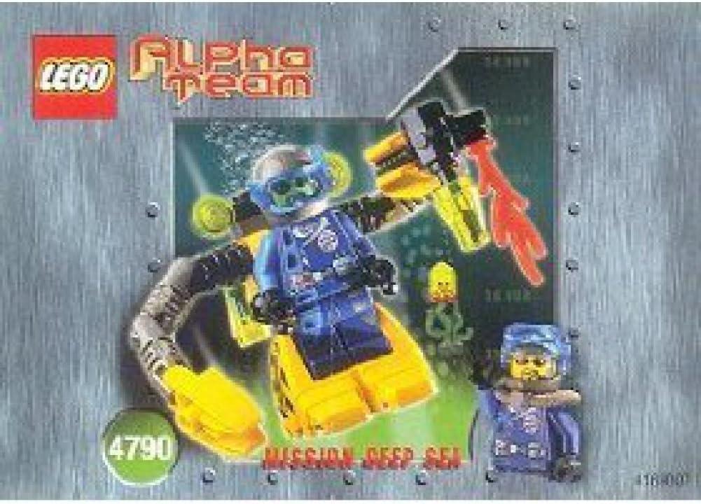 Lego Alpha Mission Team Mission Deep Sea