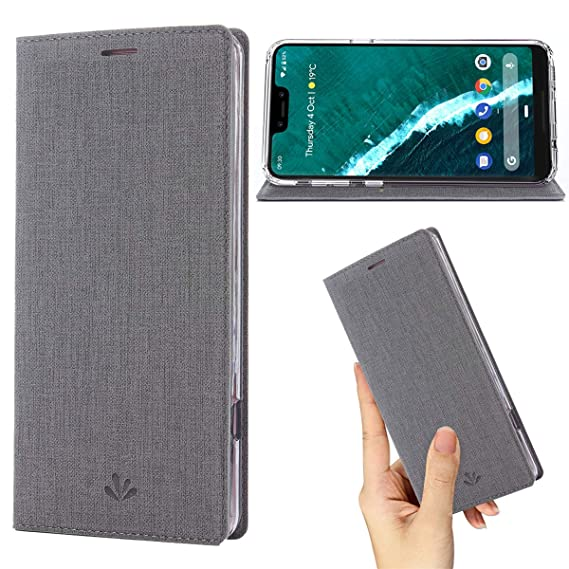 low priced ac829 c5132 Google Pixel 2 XL Case,Google Pixel XL 2 Case,Premium Flip Leather Wallet  Case Stand Kickstand Card Slot Magnetic Closure Full Body Protective Cover  ...